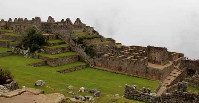 """Cômodos"" de Machu Picchu"