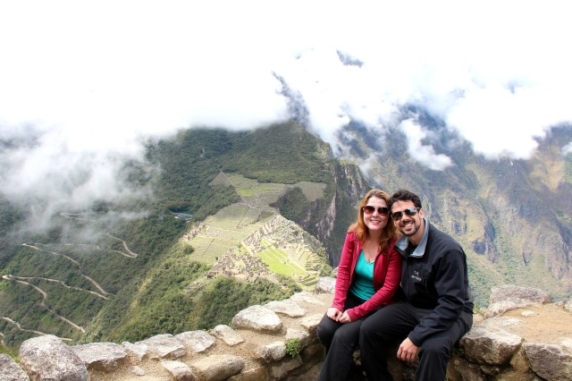 Olhando Machu Picchu de Waynapicchu