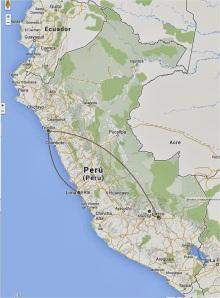 Itinerário Peru