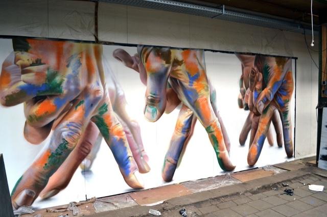 Passeando por Amsterdam e admirando os grafites