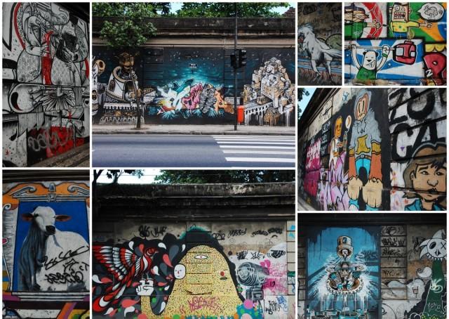 Murais no Jardim Botânico. Grafite Rio.