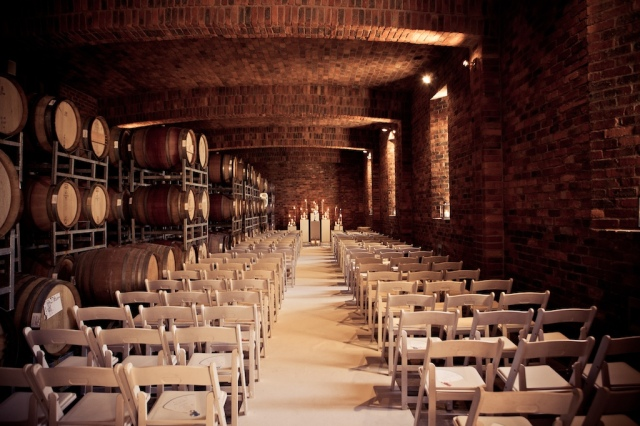 Casamento no wine cellar - Cape Town