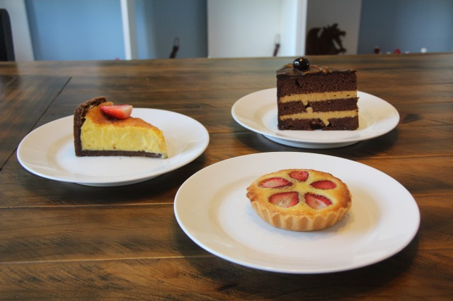 Torta Brûlée, Chocomelodrama e Frangipane