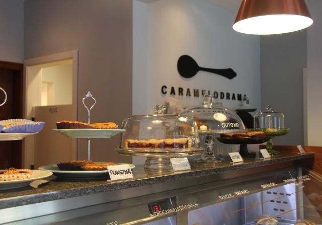 Balcão de tortas Caramelodrama