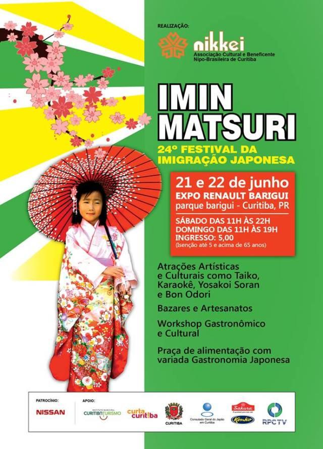 Flyer Festival Japonês