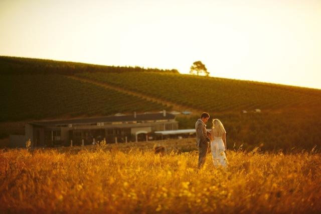 Fotos de casamento na vinícola em Cape Town