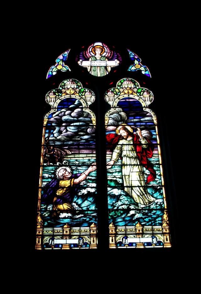Vitrais igreja S. Pedro