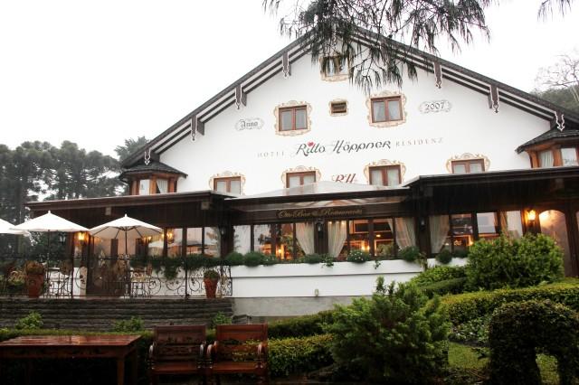Hotel Rita Hopper onde fica o Otto Restaurante
