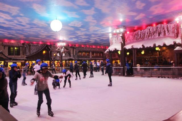 Pista de Patinação no Gelo Snowland