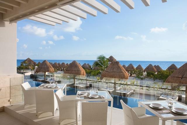 Vista de um dos restaurantes do The Beloved - México
