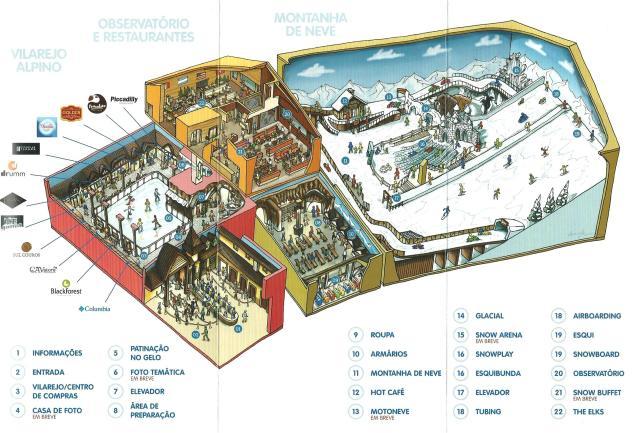Mapa Snowland