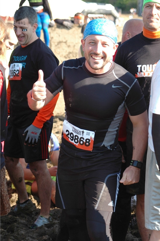 Maurício no começo da Tough Mudder
