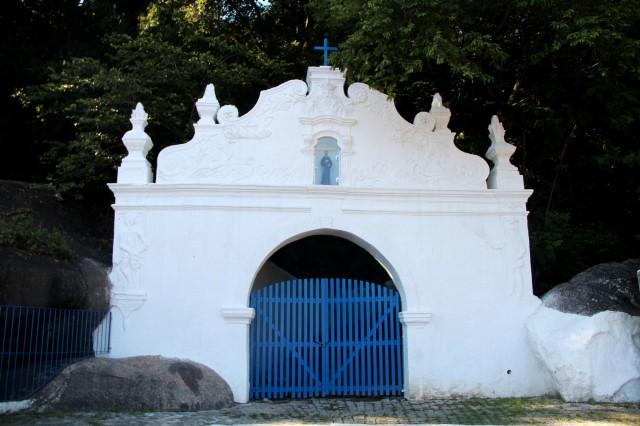 Entrada do Caminho da Penitência no Convento da Penha