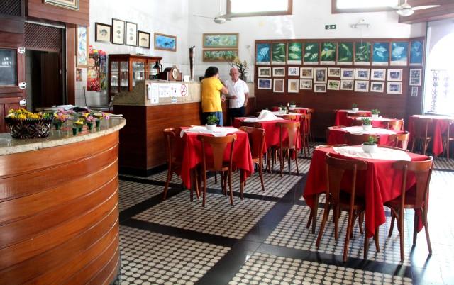 O tradicionalíssimo Restaurante São Pedro