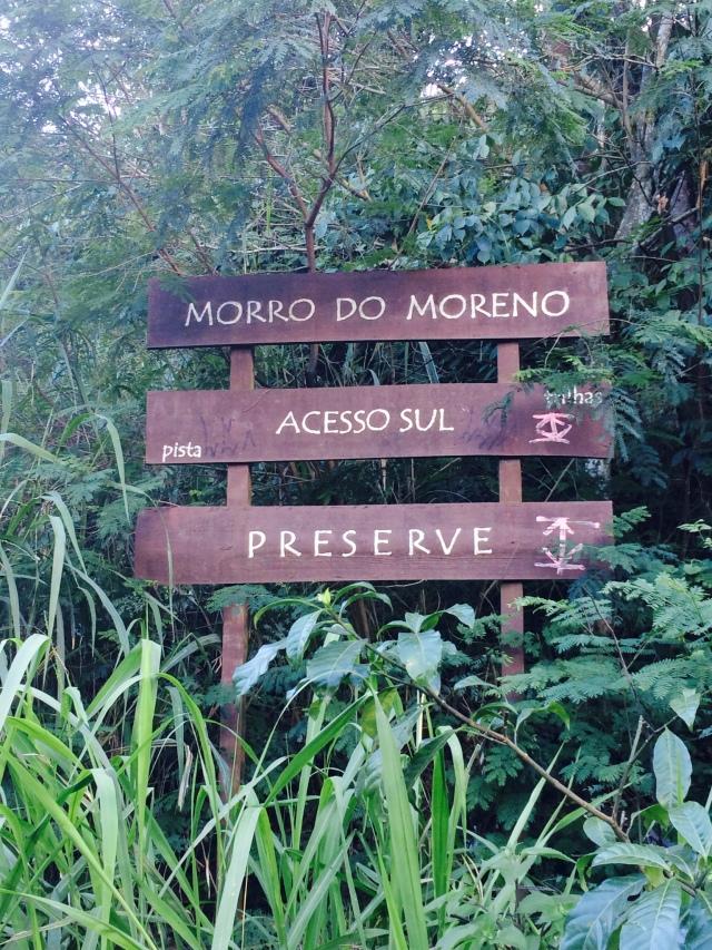Entrada do Morro do Moreno