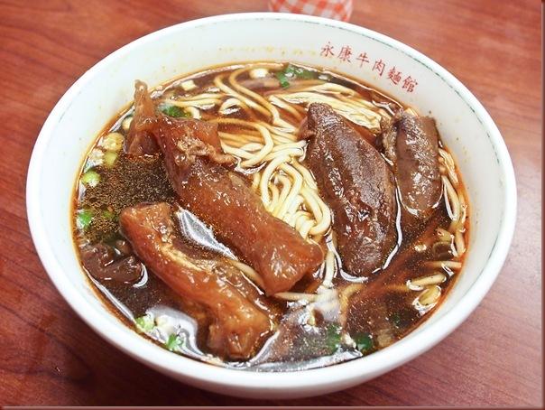 Tendão de boi com noodles em Macau