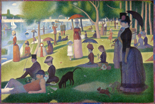 Sunday Afternoon on the Island of La Grande Jatte (foto: wikipedia)