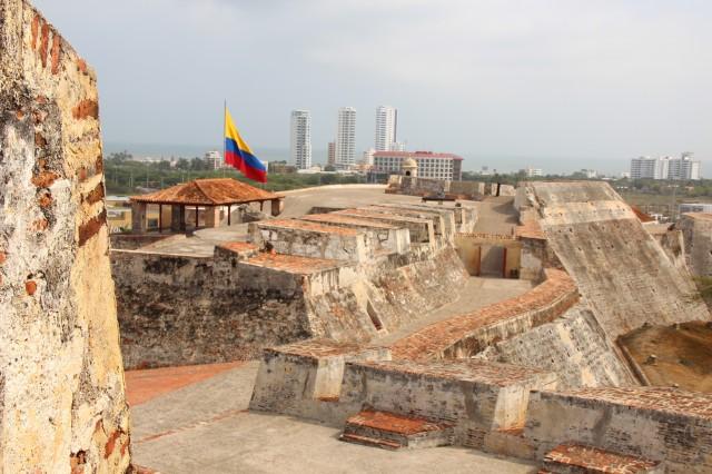 Castelo San Barajas por dentro