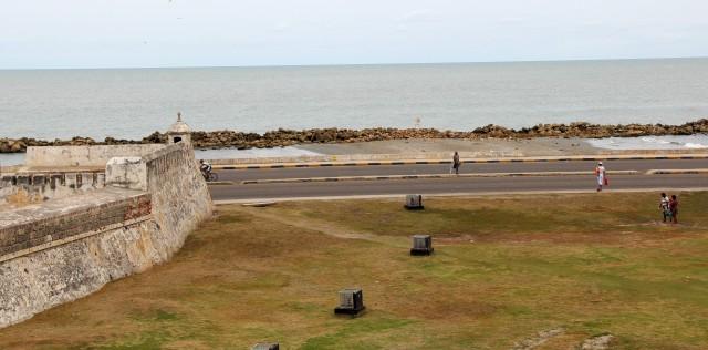 Praia urbana Cartagena