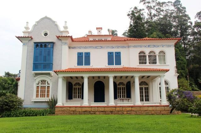 Lindas casas históricas em Petrópolis
