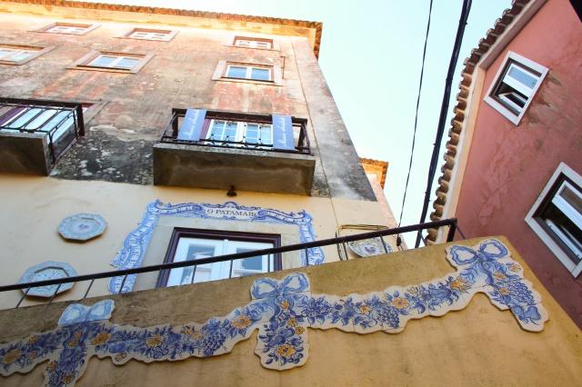 Decoração em azulejo de casa em Sintra