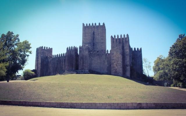 Exterior do Castelo de Guimarães