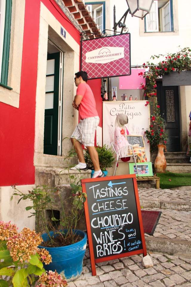 Centro bonitinho de Sintra