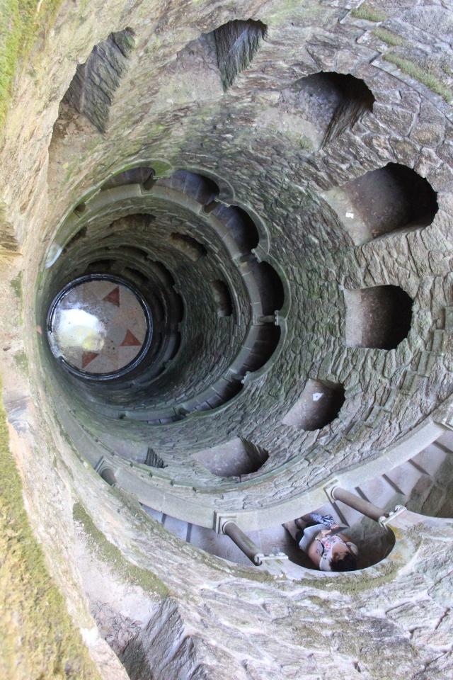 Uma das passagens misteriosas da Quinta da Regaleira