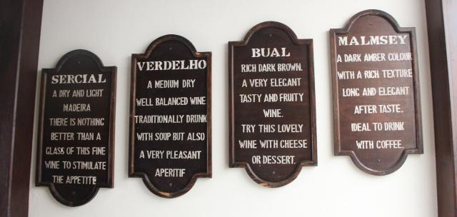As variedades de uvas mais conhecidas para o vinho madeira