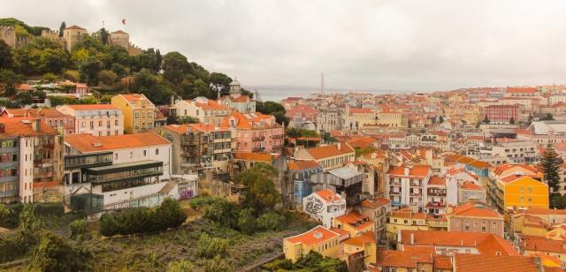 Olhando Lisboa da Igreja da Graça