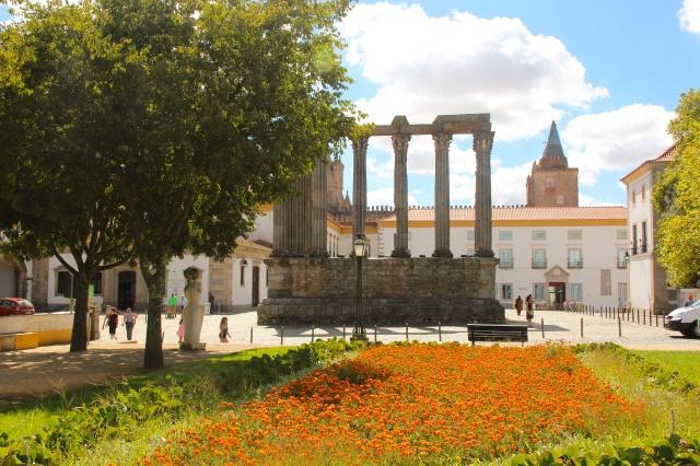 Ruínas do Templo Romano