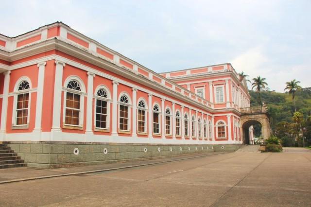 O Museu Imperial, antiga casa de veraneio real.