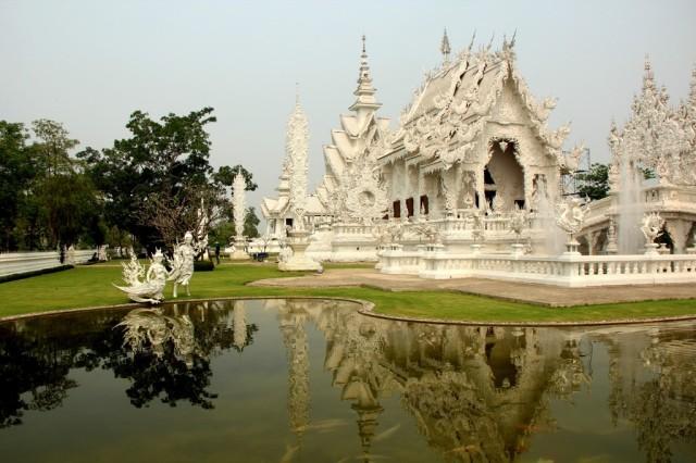 White Temple na Tailândia