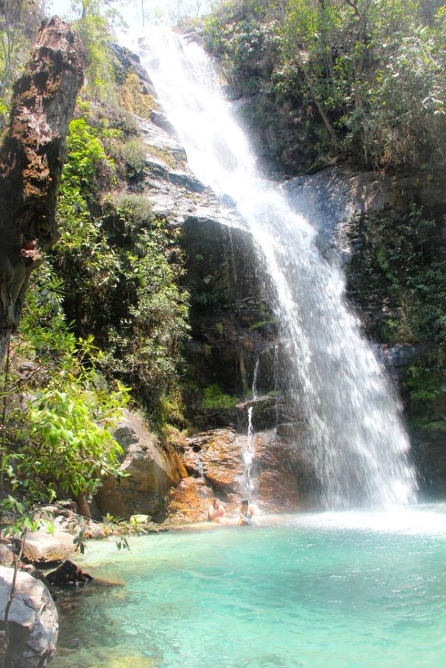 A maior cachoeira de Santa Bárbara