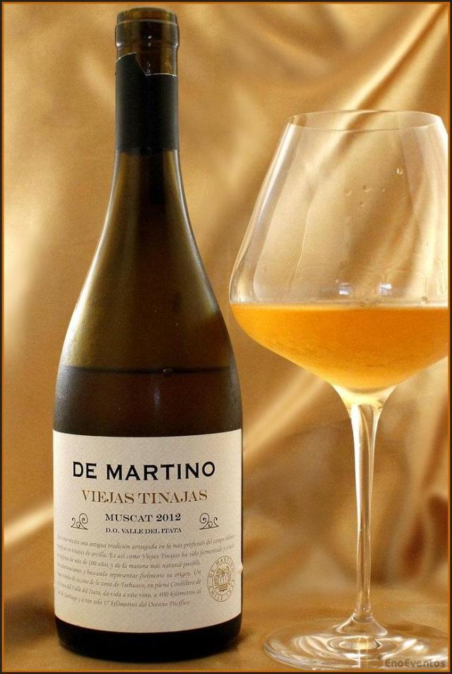 Vinho De Martino Viejas. Foto: Enoeventos