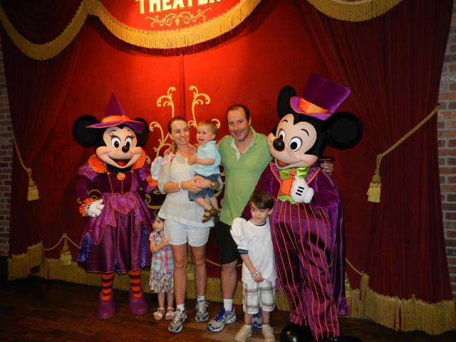 A última parada: Disney!