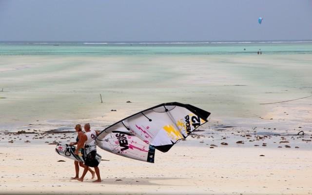 Paje é a praia queridinha pelos europeus que praticam kite surf!