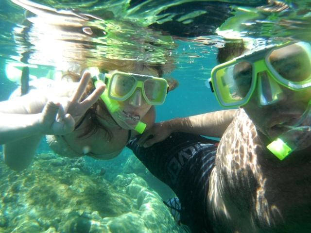 Eu e Guico mergulhando na Malásia