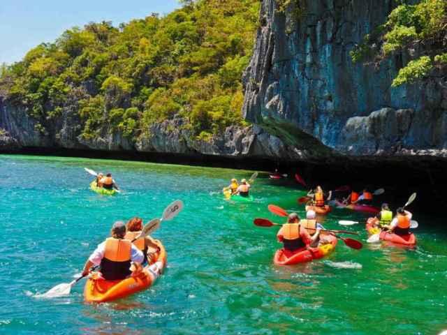 Mais fotos do caiaque em Ang Thong (foto: samuipedia.com)