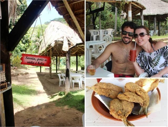 Restaurante da Telma na Praia da Tapera na Ilha Grande