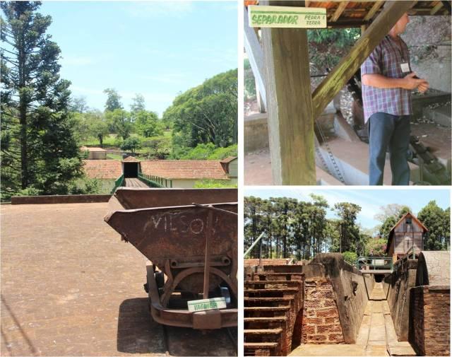 Aprendendo sobre o antigo processo de colheita do café na Fazenda Monte Bello!