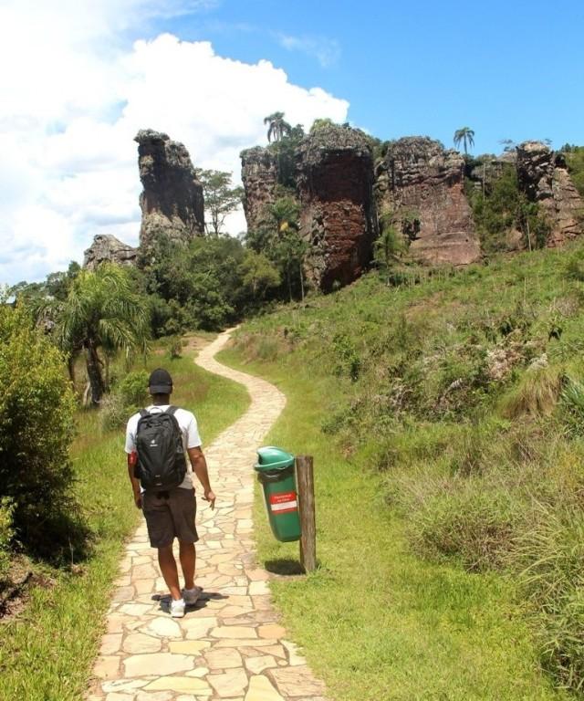 Trilha do Parque Estadual de Vila Vellha