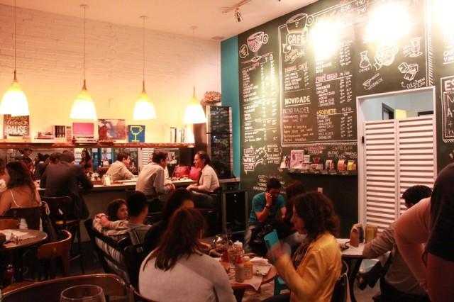 ambiente do Rause Café