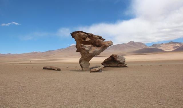"Formação rochosa ""Árvore de Pedra"" - Salar de Uyuni"