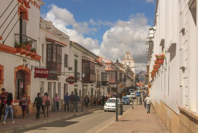 Centrinho histórico de Sucre