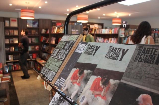 A Livraria Arte & Letra: dá para tomar um café e devorar um livro.
