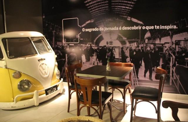 Ambiente do Station Café