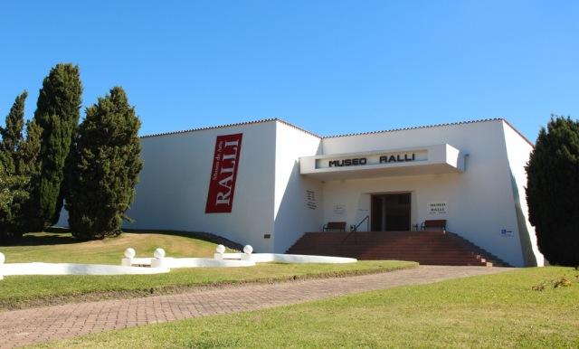 Fachada do Museu Ralli