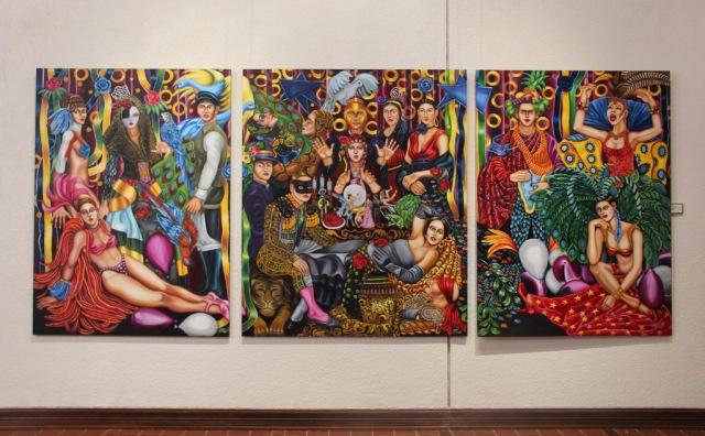 Pintura do artista brasileiro João de Souza.