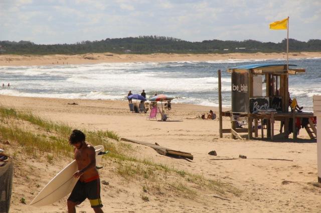 A praia de José Ignácio